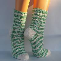 Socken Damensocken handgestrickt Größe 38/39 Bild 7