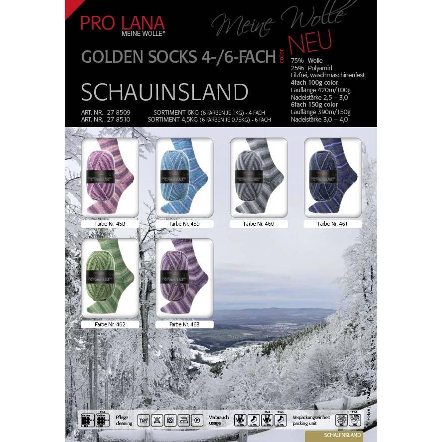 Pro Lana 4 fach Sockenwolle Schauinsland Bild 1