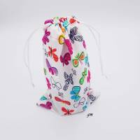 Geschenkebeutel mit Schmetterlingen Frühling, Ostern, 16x26 cm Bild 1