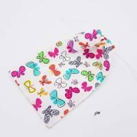 Geschenkebeutel mit Schmetterlingen Frühling, Ostern, 16x26 cm Bild 2