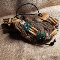 Choker, Drachen-Achat-Perlen (CH 30) Bild 1