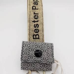 Personalisiertes Geschenk Vatertag, Mann Filz Schlüsselanhänger personalisiert, Vatertagsgeschenk, Geburtstagsgeschenk Bild 6