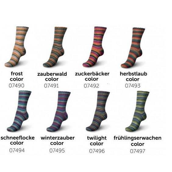 Schachenmayr Regia Tweed Color 4fach Sockenwolle 100 g Knäuel Bild 1