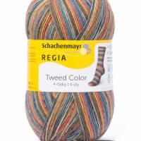 Schachenmayr Regia Tweed Color 4fach Sockenwolle 100 g Knäuel Bild 3