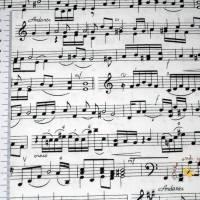 19,00 EUR/m Meterware Timeless Treasures Musik Noten US-Designerstoff Behelfsmasken Kissen Decken Taschen Accessoires Bild 1