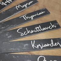 Schiefer Kräuterstecker, Gemüsestecker aus der Manufaktur Karla Bild 10