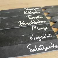 Schiefer Kräuterstecker, Gemüsestecker aus der Manufaktur Karla Bild 7