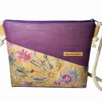 Korktasche Crossbody Tasche Crossbag Damen Umhängetasche Designwahl nachhaltig vegan und fair Bild 1