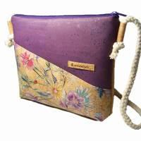 Korktasche Crossbody Tasche Crossbag Damen Umhängetasche Designwahl nachhaltig vegan und fair Bild 2