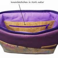 Korktasche Crossbody Tasche Crossbag Damen Umhängetasche Designwahl nachhaltig vegan und fair Bild 4