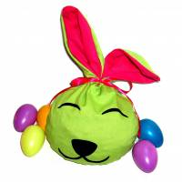 Bunny Bag Gr. L, Frühlingsgrün - Beutel für Ostergeschenke - Geschenkverpackung - Geschenkbeutel - Ostern - Osterhase Bild 1