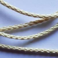 Flechtschnur Durchmesser 1,5 mm, reißfest, Schnur für Handarbeit und Floristik, Strick, Seil, Bild 2