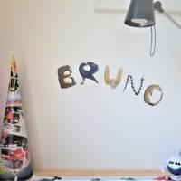 Türbuchstaben als Aufkleber fürs Kinderzimmer   Namensschild Tiere   ABC Wandtattoo oder Türschild   Alphabet Bild 6