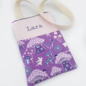 Personalisierte Kindertasche mit Namen Ostergeschenk Mädchen, Kinder Geldbeutel, Mädchen Geburtstagsgeschenk Bild 1