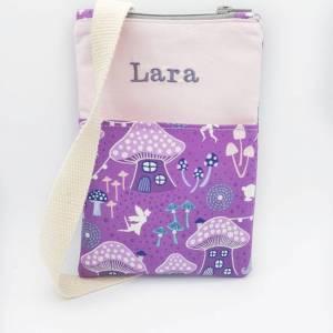 Personalisierte Kindertasche mit Namen Ostergeschenk Mädchen, Kinder Geldbeutel, Mädchen Geburtstagsgeschenk Bild 3