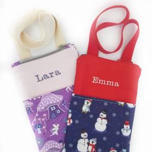 Personalisierte Kindertasche mit Namen Ostergeschenk Mädchen, Kinder Geldbeutel, Mädchen Geburtstagsgeschenk Bild 8