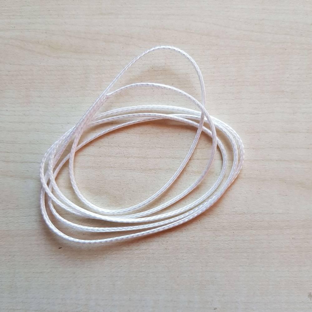 Spannseil Durchmesser 1,5 mm, reißfest und UV-beständige Schnur für Handarbeit und Floristik, Strick,  Bild 1