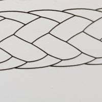 Spannseil Durchmesser 1,5 mm, reißfest und UV-beständige Schnur für Handarbeit und Floristik, Strick,  Bild 3