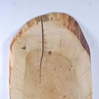 Baumscheibe als Regal, nachhaltiges Wandregal, Holzregal, natürlich wohnen, Wandschmuck, Einzigartiges Regal aus Holz, W Bild 7