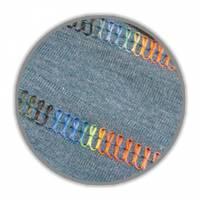 Bulky-Lock schwarz multicolor 9842 Bauschgarn multicolor No. 80 1000m von Gütermann Bild 2