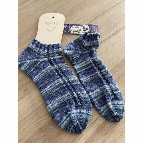 Handgestrickte Socken Gr. 42/43