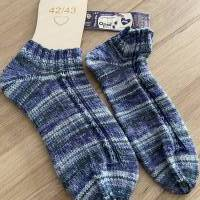 Handgestrickte Socken Gr. 42/43 Bild 1
