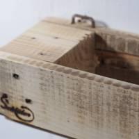 Regal aus Palettenholz als Blumenregal, Holzregal, Wohndeko,  oder für Badutensilien, Palettenholzregal, Küchenregal für Bild 6
