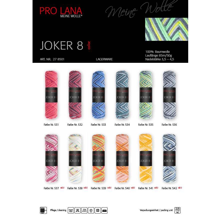 Pro Lana Joker 8 Color 100 % Baumwolle Bild 1