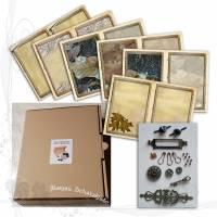 DIY-Starter-Kit für Junk-Journals *Rustikal 001*, keine Versandkosten Bild 1