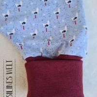 Klumpfüße - Hosen, die passen, mit extra breiten Beinbündchen (0 bis zu 12 Monaten), Design: Möwen Bild 2