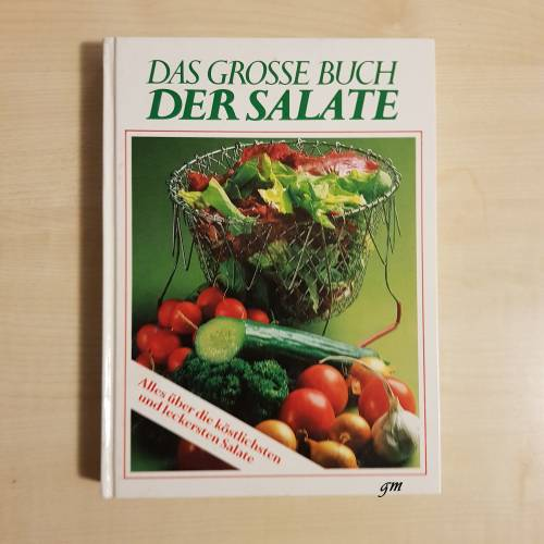 Buch, Kochbuch, Das große Buch der Salate. Sonderausgabe 1988,
