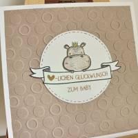 """Individualisierbare Glückwunschkarte zur Geburt """"Tierbabys"""" aus der Manufaktur Karla Bild 8"""