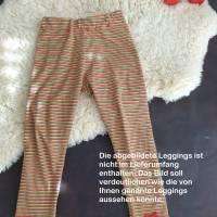 Rundum-sorglos Nähset Leggings Miriam, limegrüner Jersey mit weißen Wolken, diverse Größen, DIY Paket Bild 4