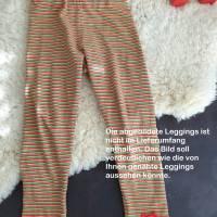 Rundum-sorglos Nähset Leggings Miriam, limegrüner Jersey mit weißen Wolken, diverse Größen, DIY Paket Bild 5