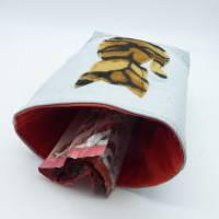 Utensilo 'Tigerkatze', wetbag, Unikat hessmade Bild 6