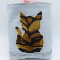 Utensilo 'Tigerkatze', wetbag, Unikat hessmade Bild 7