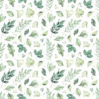 Jersey/Digital Print/Leafes grün/Baumwolle/1,50m breit/Meterware/Öko-Tex Standard 100 zertifiziert Bild 1