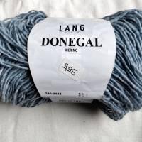 50g Lang Yarns Donegal, Fb. 33, hellblau, Tweed Bild 2