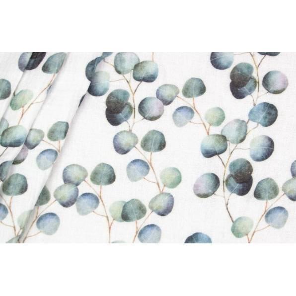 Musselin Eukalyptus BIO Bunt, Musselinstoff Grundpreis 21,90 Euro pro Meter Bild 1