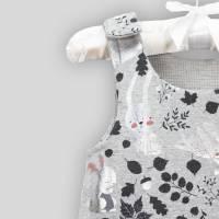 Baby Strampler Hase Metalic mit Druckknöpfen Bild 5