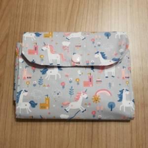 Etui / Tasche für Spielkarten, zB Rommee, Solo, Phase 10,  aus Baumwolle, Handarbeit Bild 1