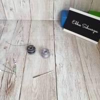 Rundum-sorglos Nähset Halstuch, dunkelblauer Tripplegauze und hellgrauer Doublegauze, DIY Paket Bild 10