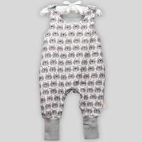 Baby Strampler Bär mit Druckknöpfen Bild 2