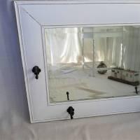 Wunderschöner weißer Spiegel mit Charme Shabby Bild 2