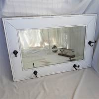 Wunderschöner weißer Spiegel mit Charme Shabby Bild 4