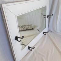 Wunderschöner weißer Spiegel mit Charme Shabby Bild 7