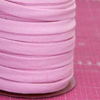 Kordel flach in rosa - 15 mm - Hoodieband Bild 2