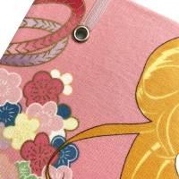"Notizbuch Tagebuch Kladde ""Manga Beauty"" A4 liniert stoffbezogen Stoff Motiv Manga Japan Comic Anime Bild 4"