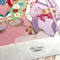 "Notizbuch Tagebuch Kladde ""Manga Beauty"" A4 liniert stoffbezogen Stoff Motiv Manga Japan Comic Anime Bild 7"