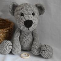 Spieluhr Bio Teddybär  Bild 1
